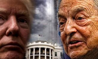 Soros y Trump<br><span style='color:#006EAF;font-size:12px;'>¿Quién dirige realmente Estados Unidos?</span>
