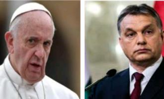 El Vaticano denuncia a Hungría<br><span style='color:#006EAF;font-size:12px;'>ORBAN VS BERGOGLIO</span>