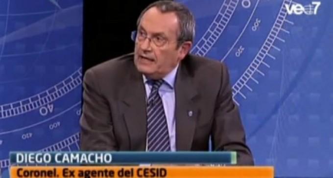 """""""Juan Carlos I fue el motor del golpe del 23-F. El golpe de Cataluña es más grave porque pretende una segregación de España""""<br><span style='color:#006EAF;font-size:12px;'>ENTREVISTA AL CORONEL DIEGO CAMACHO</span>"""