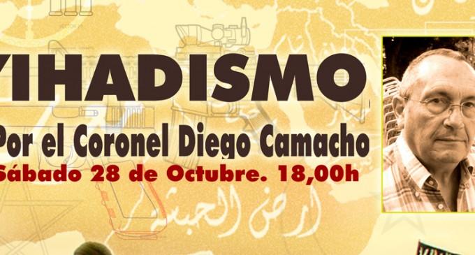 Conferencia &#8220;YIHADISMO&#8221; por Diego Camacho<br><span style='color:#006EAF;font-size:12px;'>CENTRO SOCIAL Y NACIONAL RECONQUISTA (CASTELLÓN)</span>