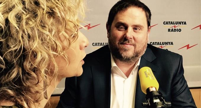 Periodista estrella de Catalunya Radio pregunta a Junqueras si Israel financia a Cataluña<br><span style='color:#006EAF;font-size:12px;'>¿ABANDONAN LAS ESTRELLAS DE TV3 Y CATALUNYA RADIO EL BARCO SEPARATISTA?</span>