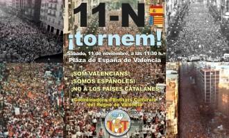 DN APOYA LA MANIFESTACIÓN DEL 11 DE NOVIEMBRE EN VALENCIA<br><span style='color:#006EAF;font-size:12px;'>ESPAÑOLES, LA PATRIA ESTÁ EN PELIGRO</span>