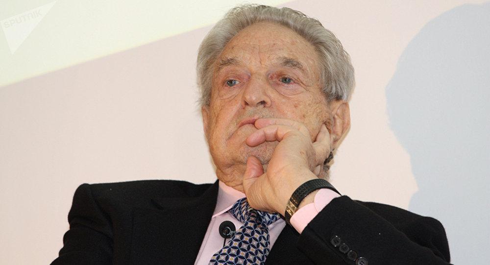 George Soros, financiador de la ultraizquierda y de numerosos medios de comunicación.