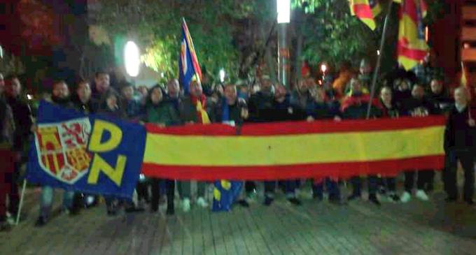 Manifestación por la Unidad de España en Ripollet<br><span style='color:#006EAF;font-size:12px;'>CATALUÑA ES ESPAÑA</span>