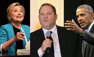 El escándalo sexual de Weinstein implicaría a los Clinton y los Obama<br><span style='color:#006EAF;font-size:12px;'>LAS ÉLITES SIONISTAS Y SUS PERVERSIONES AL DESCUBIERTO</span>
