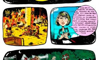 El contubernio Medios-Ultraizquierda no es nuevo<br><span style='color:#006EAF;font-size:12px;'>Comic de los 90s ya lo denunciaba</span>