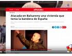 """Tensión entre antifas y patriotas en Barcelona<br><span style='color:#006EAF;font-size:12px;'> Al escrache en un domicilio particular ahora le llaman """"chocolatada""""</span>"""