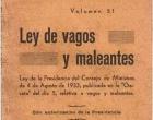 SOBRE LA LEY  DE VAGOS Y MALEANTES<br><span style='color:#006EAF;font-size:12px;'>Opinión de Omar Pardo Cortina en Cartas a DN</span>