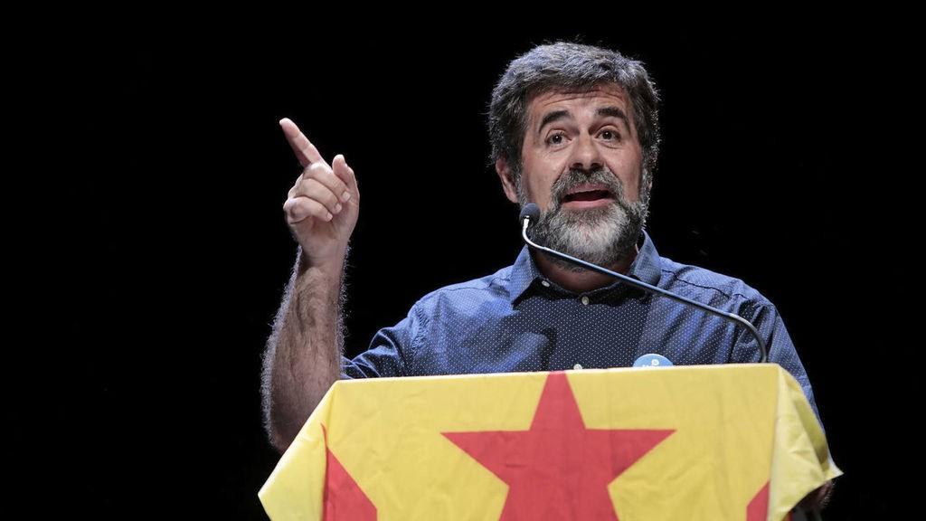 Jordi Sánchez, golpista antiespañol que ha podido provocar luchas sangrientas fratricidas en Cataluña.
