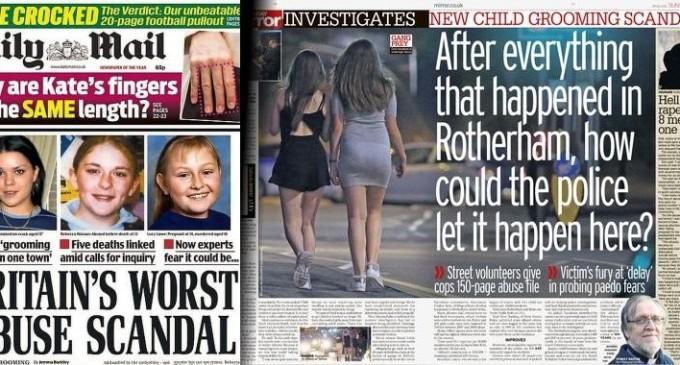 Las autoridades británicas permitieron abusos sexuales de musulmanes a un millar de niñas durante décadas<br><span style='color:#006EAF;font-size:12px;'>CUANDO LA CORRECCIÓN POLÍTICA ES UN CRIMEN IMPERDONABLE</span>