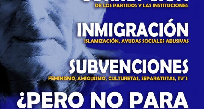 ANTE LA MANIFESTACIÓN DE LOS PENSIONISTAS.<br><span style='color:#006EAF;font-size:12px;'>Basta de despilfarro </span>