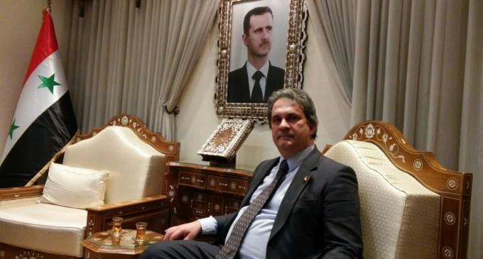El presidente de la APF critica la repugnante atrocidad de la bandera falsa<br><span style='color:#006EAF;font-size:12px;'>LA VERDAD DE LO QUE OCURRE EN SIRIA</span>