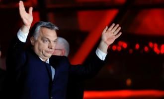 Viktor Orban arrasa en las elecciones húngaras<br><span style='color:#006EAF;font-size:12px;'>EL NACIONALISMO HÚNGARO LOGRA EL 70% DE LOS VOTOS</span>