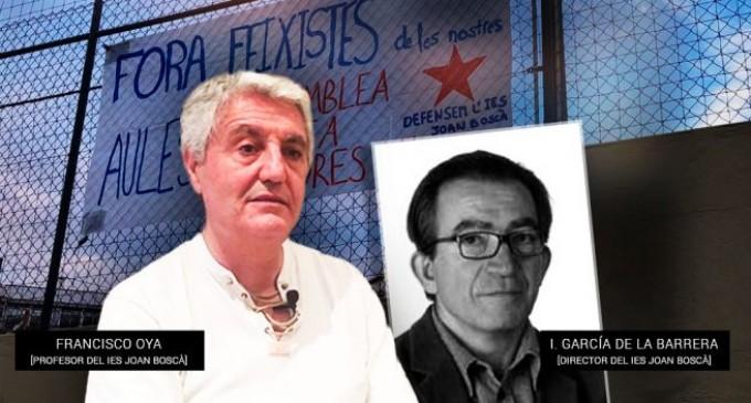 El Ministerio de Educación abandona al profesor perseguido por la Generalitat y la CUP<br><span style='color:#006EAF;font-size:12px;'>EL GOBIERNO DE RAJOY ES CÓMPLICE DEL SEPARATISMO</span>