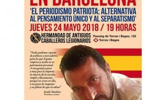 Conferencia de Josele Sánchez en Barcelona<br><span style='color:#006EAF;font-size:12px;'>JUEVES 24 DE MAYO A LAS 19 HORAS</span>