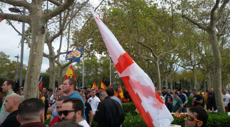 ultres-de-democracia-nacional-a-la-manifestacio-feixista