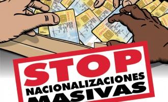 Refugiados e inmigrantes exigen regularizaciones sin contrato de trabajo y nacionalizaciones sin exámenes<br><span style='color:#006EAF;font-size:12px;'>LOS ESPAÑOLES PRIMERO</span>