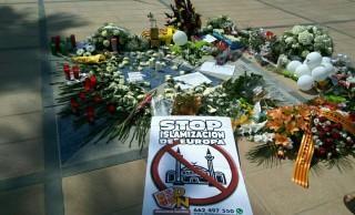 DN en el homenaje a las víctimas de los atentados de Cambrils<br><span style='color:#006EAF;font-size:12px;'>CRÓNICA DEL ACTO (POR JUAN DE HARO)</span>