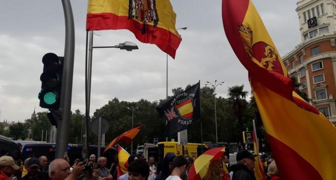 Manifestación contra la Ley de Memoria Histórica<br><span style='color:#006EAF;font-size:12px;'>DN, EN LA LUCHA POR ESPAÑA</span>