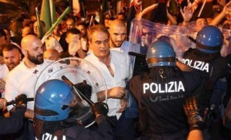 Tensión en Italia<br><span style='color:#006EAF;font-size:12px;'>COMUNICADO DE ROBERTO FIORE, PRESIDENTE DE FORZA NUOVA</span>