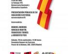 Presentación de la Candidatura Euroescéptica para las próximas elecciones europeas<br><span style='color:#006EAF;font-size:12px;'>MADRID: SÁBADO 29 DE SEPTIEMBRE</span>
