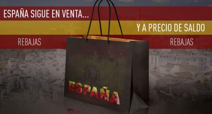 AUDIO: El capitalismo internacional está comprando España a precio de saldo<br><span style='color:#006EAF;font-size:12px;'>RADIO AQUÍ LA VOZ DE EUROPA</span>