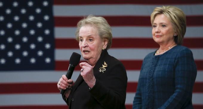 Las palabras de Madeleine Albright son una advertencia contra el Nacionalismo español<br><span style='color:#006EAF;font-size:12px;'>LA DERECHA LIBERAL NO SE ENTERA</span>