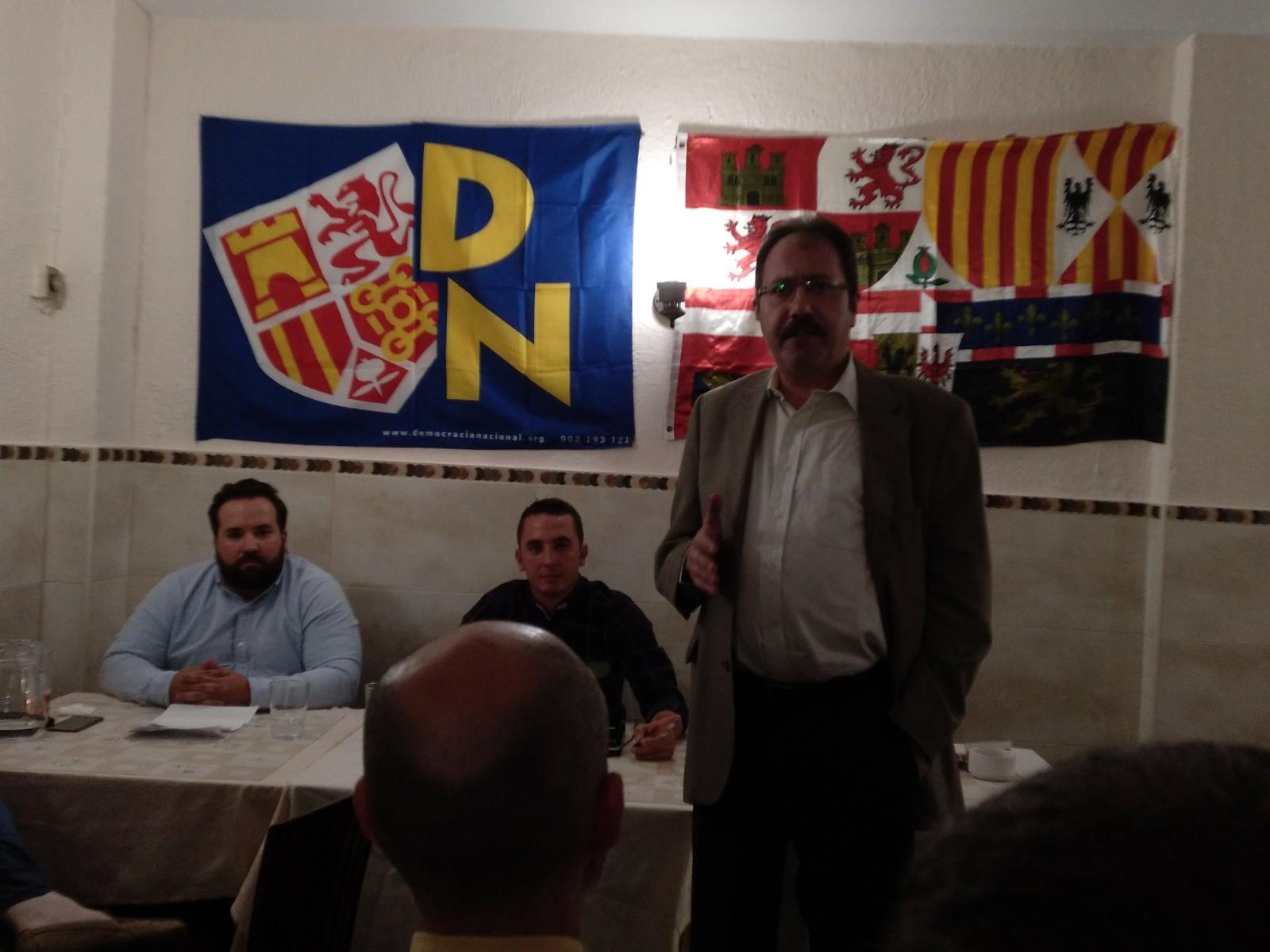 Luis Mateos, Secretario General de DN.