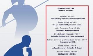 Éxito en las jornadas de Pensamiento y Acción, próximamente crónica.<br><span style='color:#006EAF;font-size:12px;'>Jornada de conferencias en Cartagena (Acto Público).</span>
