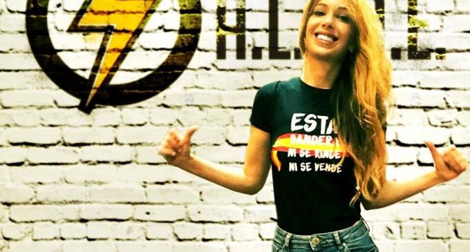 Noelia de Trastámara 1 diciembre (Cartagena).<br><span style='color:#006EAF;font-size:12px;'>Trastámara presentará la jornada, pensamiento y acción.</span>