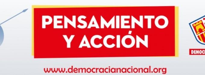 1 de Diciembre, Jornadas de Pensamiento y Acción.<br><span style='color:#006EAF;font-size:12px;'>Jornada de conferencias en Cartagena (Acto Público).</span>