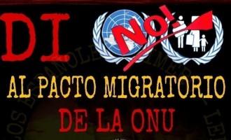 Petición de firmas en contra del Pacto Migratorio de la ONU<br><span style='color:#006EAF;font-size:12px;'>LOS ESPAÑOLES PRIMERO</span>