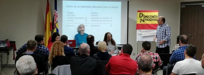 Crónica conferencia &#8220;SOBERANÍA MONETARIA&#8221;<br><span style='color:#006EAF;font-size:12px;'>DEMOCRACIA NACIONAL (MADRID).</span>