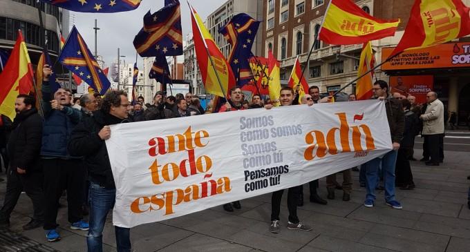 ADÑ contra el separatismo y sus cómplices<br><span style='color:#006EAF;font-size:12px;'>CRÓNICA DE LA MANIFESTACIÓN</span>