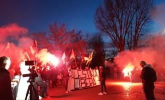 Crónica: manifestación en Roma contra el Sionismo Internacional<br><span style='color:#006EAF;font-size:12px;'>Pedro Chaparro estuvo presente.</span>