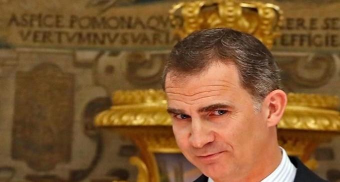 Los masones españoles conceden al rey Felipe VI su más alta distinción<br><span style='color:#006EAF;font-size:12px;'>IGUAL DE TRAIDOR QUE SU PADRE</span>