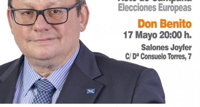 Próximos actos de ADÑ: Extremadura y Barcelona<br><span style='color:#006EAF;font-size:12px;'>PARA LAS ELECCIONES EUROPEAS DEL 26 DE MAYO</span>