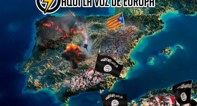 AUDIO: Un nuevo 11-M para rematar a España<br><span style='color:#006EAF;font-size:12px;'>RADIO AQUÍ LA VOZ DE EUROPA</span>