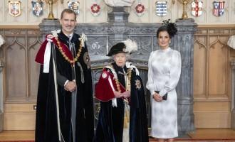 ¿Qué relación tiene la británica Orden de la Jarretera con la masonería?<br><span style='color:#006EAF;font-size:12px;'>FELIPE VI RINDE SUMISIÓN EN LONDRES</span>