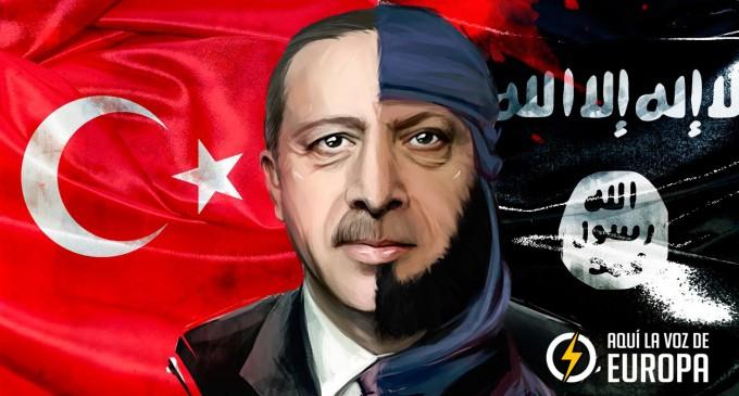 """Erdogan amenaza con permitir entrar en Europa a millones de """"refugiados"""" y adquirir la bomba atómica<br><span style='color:#006EAF;font-size:12px;'>NUEVO CHANTAJE ISLÁMICO A EUROPA</span>"""