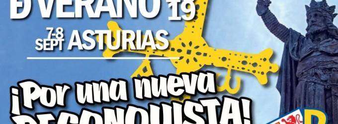 Universidad de Verano DN 2019: Por una nueva Reconquista<br><span style='color:#006EAF;font-size:12px;'>ASTURIAS</span>