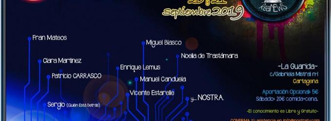 6ª Jornadas de Contrainformación: Cartagena 20-21 de septiembre<br><span style='color:#006EAF;font-size:12px;'>ASISTIRÁ EL EQUIPO DE AQUÍ LA VOZ DE EUROPA AL COMPLETO</span>