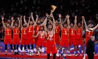 España: Campeona del Mundo de Baloncesto ¡¡Enhorabuena!!<br><span style='color:#006EAF;font-size:12px;'>CON UN EQUIPO 100% ESPAÑOL</span>