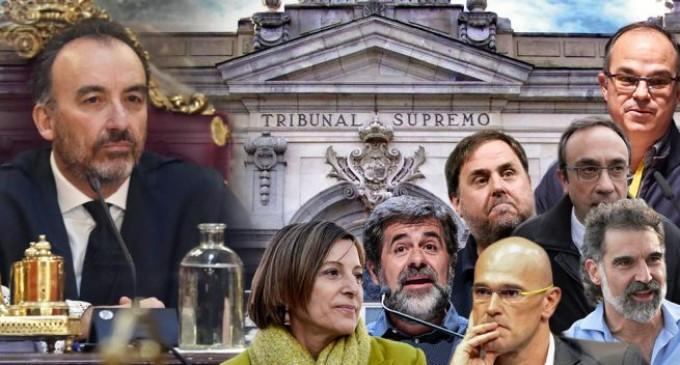 AUDIO: Traición en el Tribunal Supremo ¿saldrán los separatistas pronto a la calle?<br><span style='color:#006EAF;font-size:12px;'>RADIO AQUÍ LA VOZ DE EUROPA</span>
