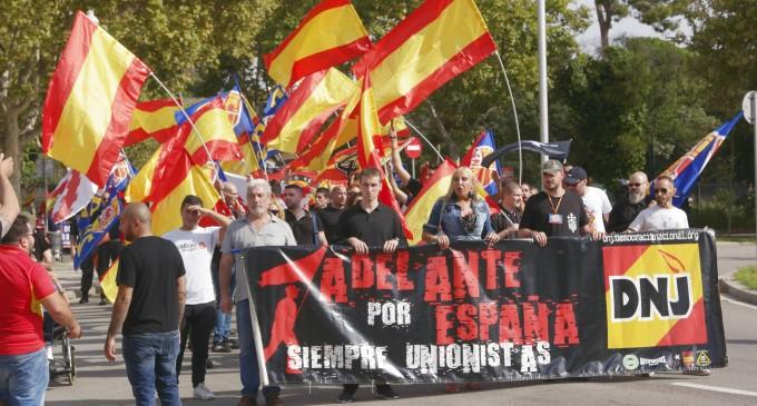 Crónica 12 de octubre: Día Nacional de España<br><span style='color:#006EAF;font-size:12px;'>DEMOCRACIA NACIONAL EN BARCELONA</span>