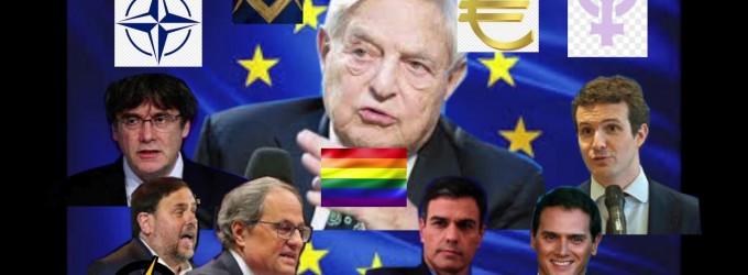 Sigue la farsa: El Tripartito Bilderberg contra el separatismo Bilderberg<br><span style='color:#006EAF;font-size:12px;'>RADIO AQUÍ LA VOZ DE EUROPA</span>