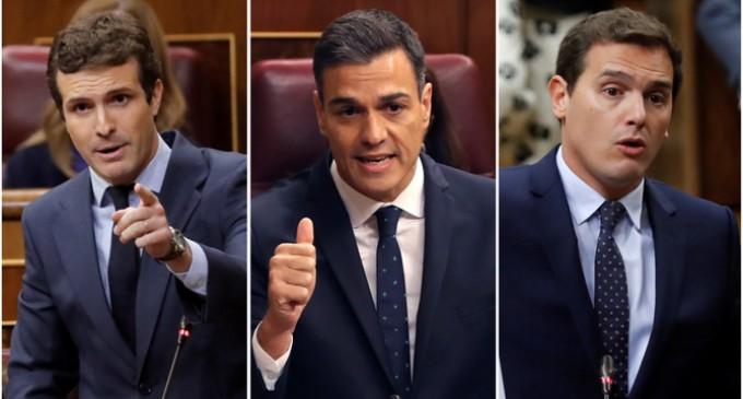 """Rivera plantea un gran acuerdo de diez años entre Cs, PSOE y PP para realizar """"la segunda Transición""""<br><span style='color:#006EAF;font-size:12px;'>SEGUNDA TRANSICIÓN ¿PARA QUÉ?</span>"""