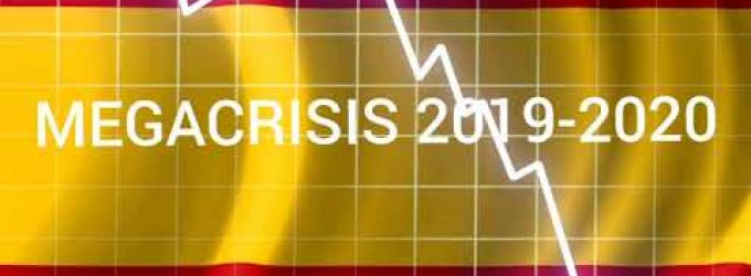 Año 2020 ¿crisis total en España?<br><span style='color:#006EAF;font-size:12px;'>RADIO AQUÍ LA VOZ DE EUROPA</span>