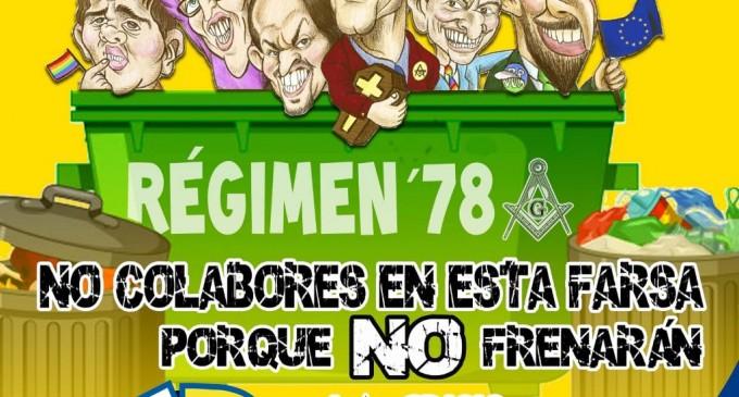 NO LES VOTES.<br><span style='color:#006EAF;font-size:12px;'>Elecciones generales 10-N , 2019.</span>