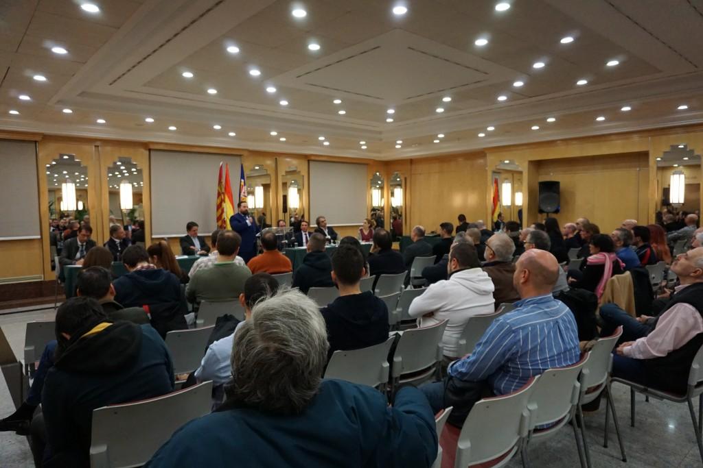 Gonzalo Martín, Vicesecretario de relaciones exteriores en su discurso.